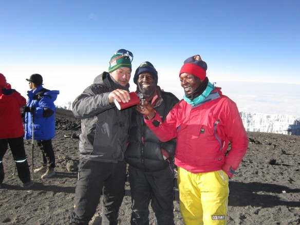 Climb Kilimanjaro Lunar Eclipse September 2015
