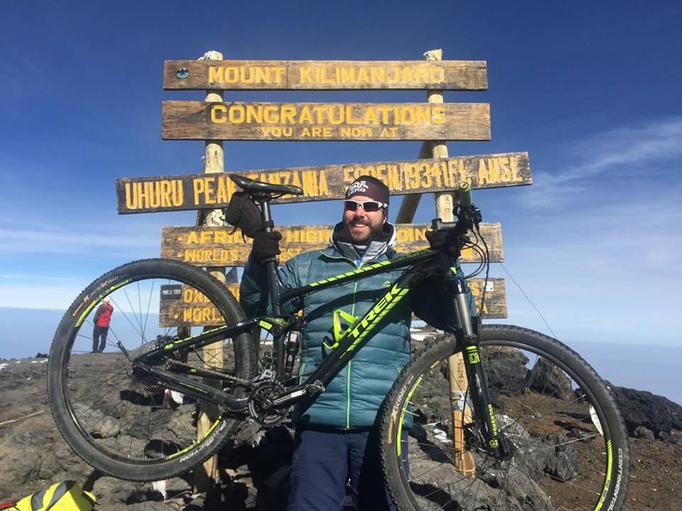 Cycling Kilimanjaro