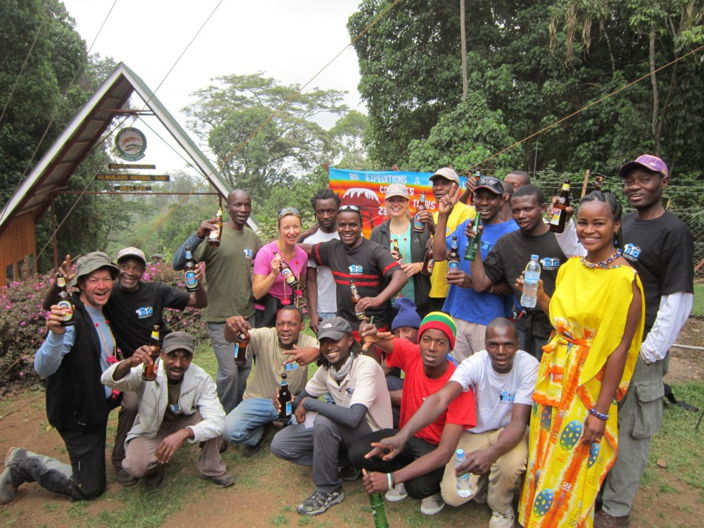 7 day machame route january